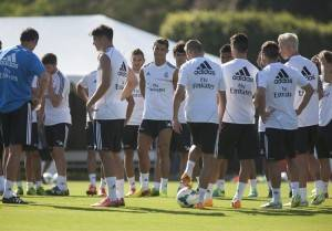 efe entrenamiento real madrid