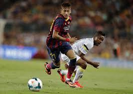 Neymar en el Gamper