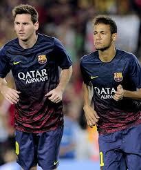 Neymar y Messi 2