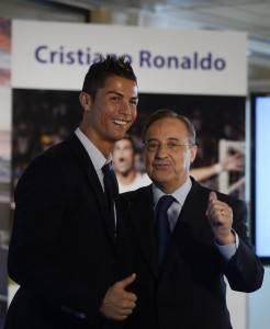 Cristiano y Florentino