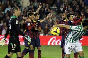 EFE Betis - Barcelona