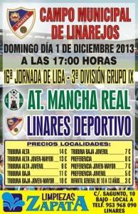 Cartel Linares - Mancha Real
