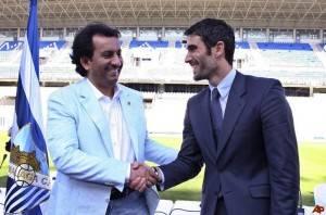 Al Thani y Fernando Sanz