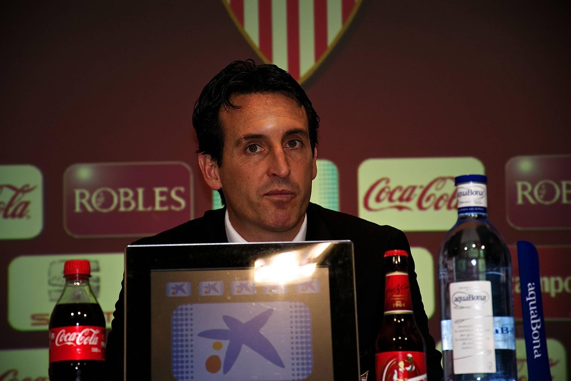 Emery Rueda de Prensa Sevilla Athletic