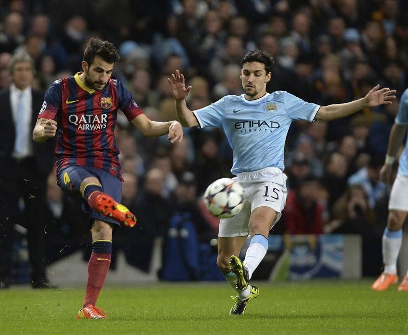 EFE Navas Cesc Fábregas Liga de Campeones Manchester City Barcelona