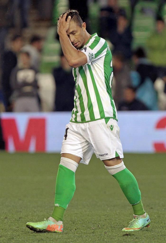 EFE Rubén Castro Betis decepción