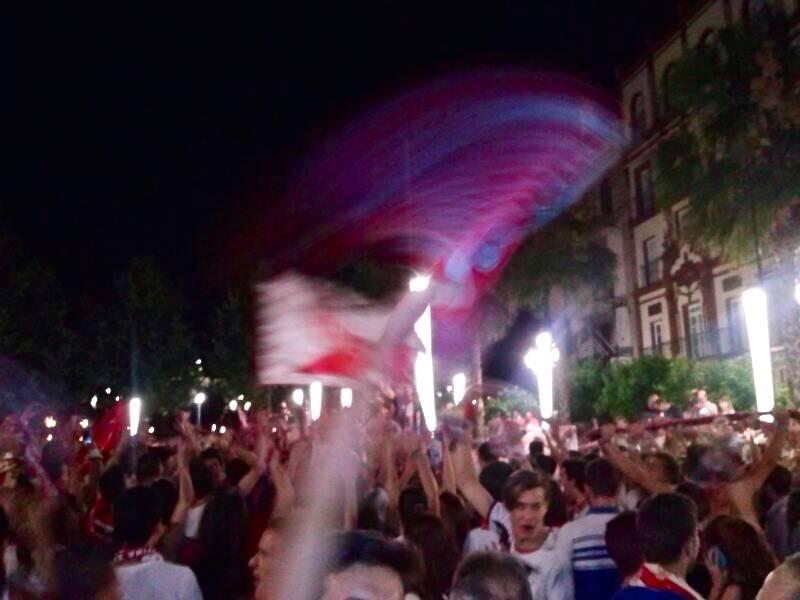 Sevilla Puerta Jerez Celebración