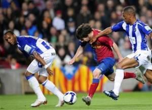 Lionel Messi, Helder Rosario, Eliseu Pereira dos Santos