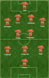 Valencia vs Benfica