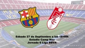 Previa Barcelona Granada f