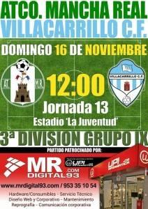 At. Mancha Real - Villacarrillo 16-11