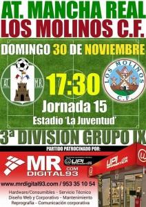 cartel Mancha Real_LosMolinos