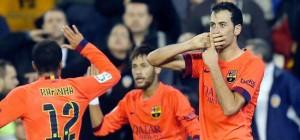 Busquets gol Valencia