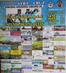 cartel villacarrillo - español