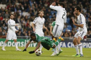 real madrid ludogorets