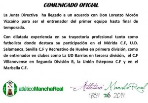 comunicado at mancha real _ loren