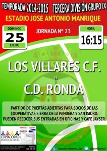 cartel Los Villares_CDRonda