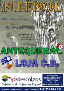 Antequera Loja CD Cartel