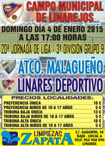 cartel Linares Deportivo_Malagueño