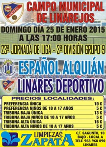 cartel linares deportivo_español