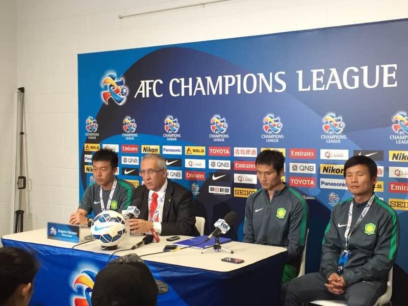 Gregorio Manzano, Champions League Asiática, Beijing Guoan
