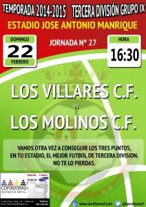cartel losvillares_losmolinos