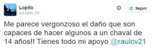 tweet lopito