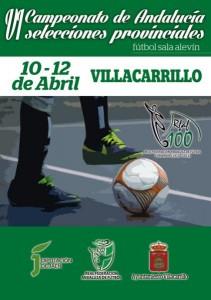 Campeonato de Andalucía fútbol sala alevín 2015