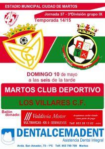 cartel martos_losvillares
