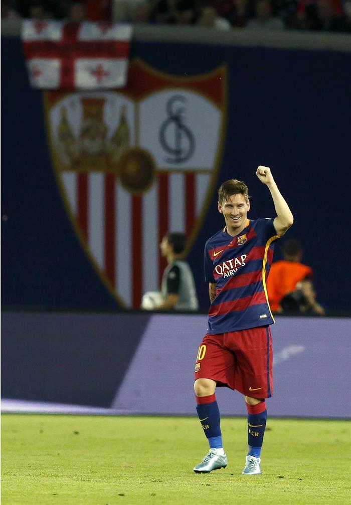 EFE Messi Barcelona Sevilla Supercopa Europa 2