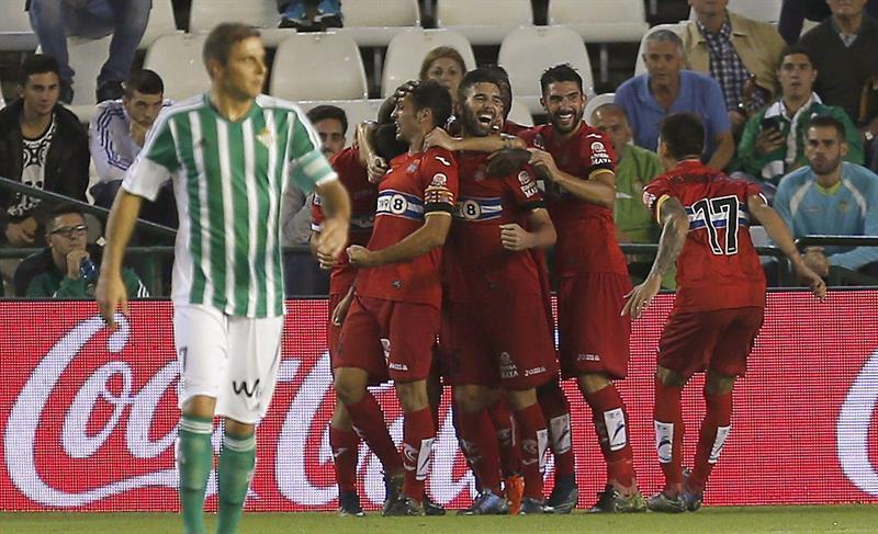 EFE Espanyol Celebración Betis Joaquín