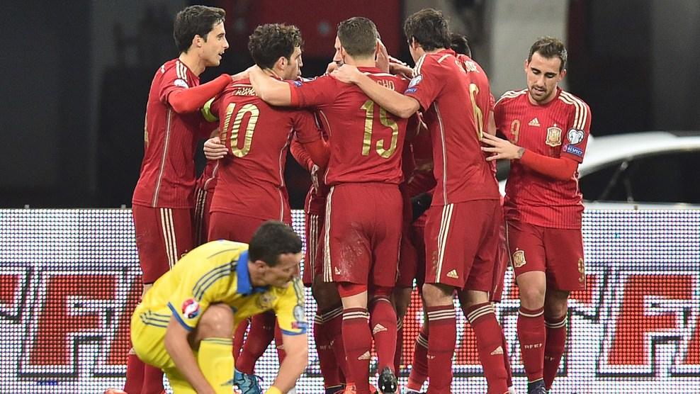 Selección Española España Celebración