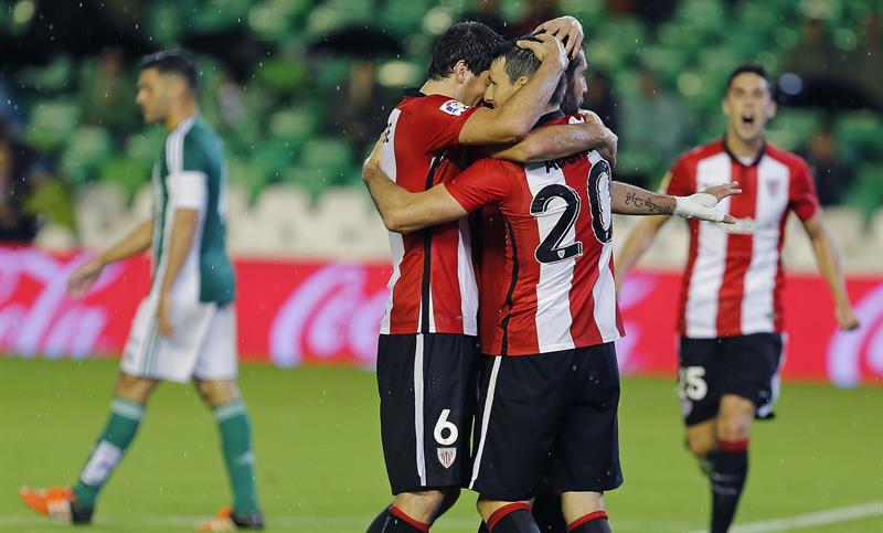 EFE Athletic celebración gol Betis
