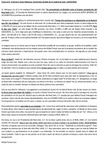 carta teruel alcalde