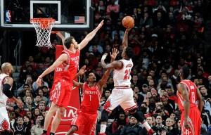 Rockets at Bulls