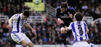 Real Sociedad 0-1 Real Madrid: Bale mantiene la esperanza blanca