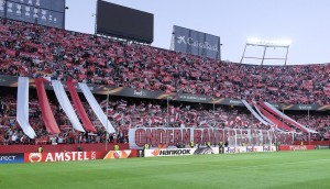 Tifo biris Sevilla Athletic Europa League