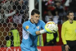 David Soria penalti Sevilla Athletic Europa League