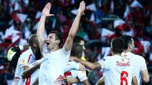 Sevilla Shakhtar celebración pase final Nervioneo