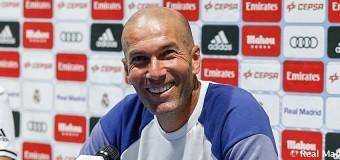 """Zidane: """"Empezar bien en el primer partido es importante"""""""