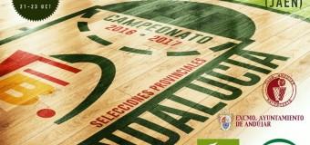 Andújar acoge el Campeonato Andaluz de Selecciones Provinciales de Baloncesto